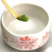 Fig. 1: Green tea dust... don't breathe this!